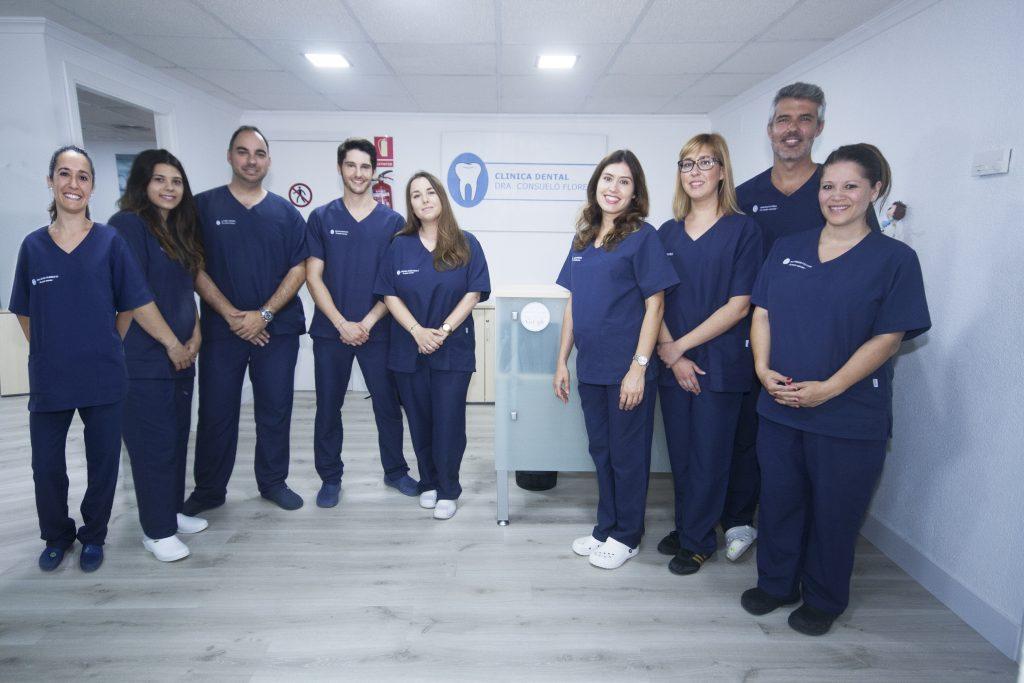 Cuadro medico completo de la Clinica Dental Consuelo Flores