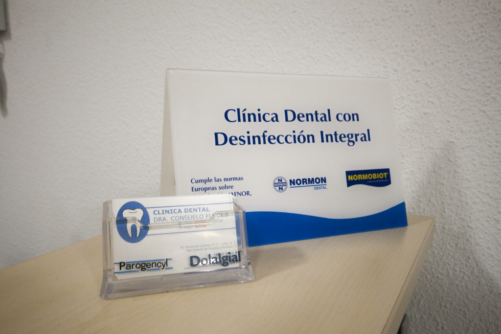 clinica dental con desinfeccion integral