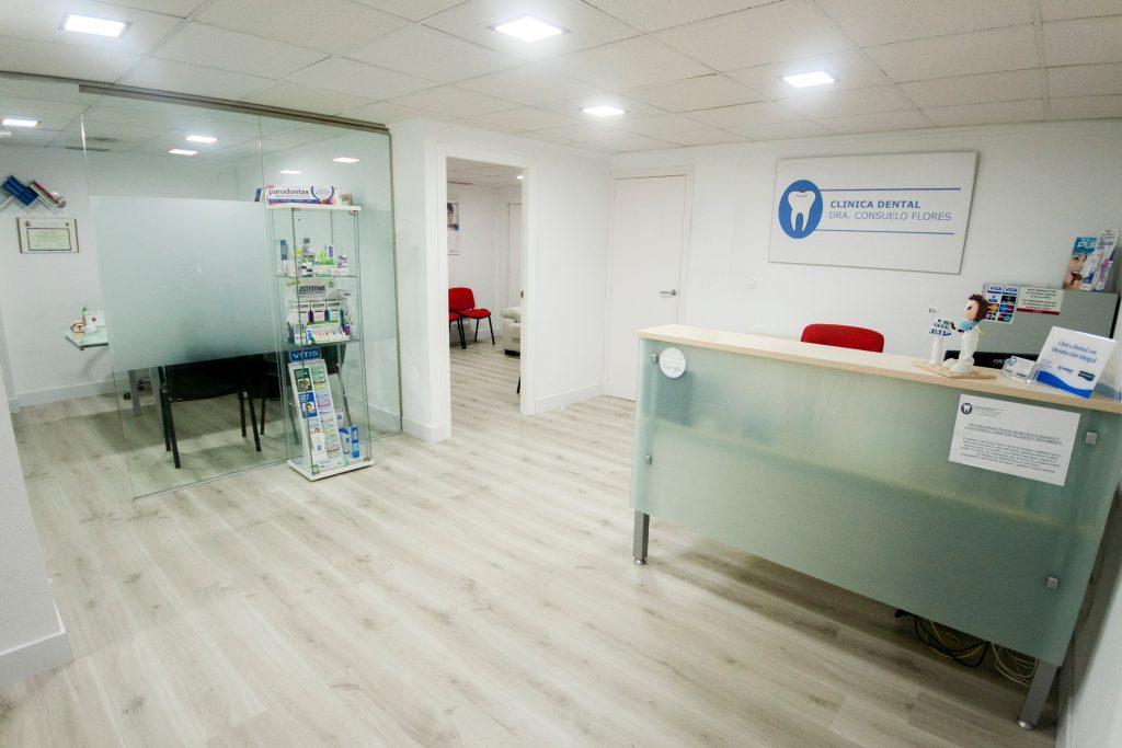 Clínica Dental en San Vicente Consuelo Flores recepción