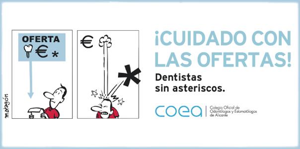 Implantes dentales de calidad. Somos dentistas sin asteriscos