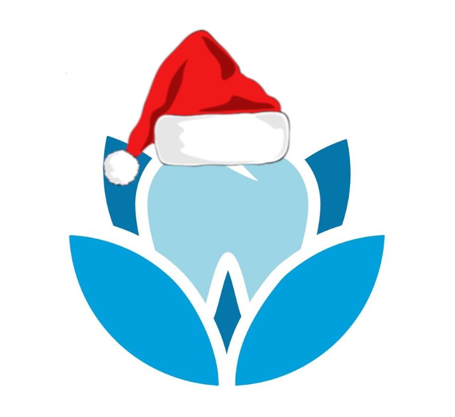 Logo Navidad Clínica Dental Consuelo Flores en San Vicente