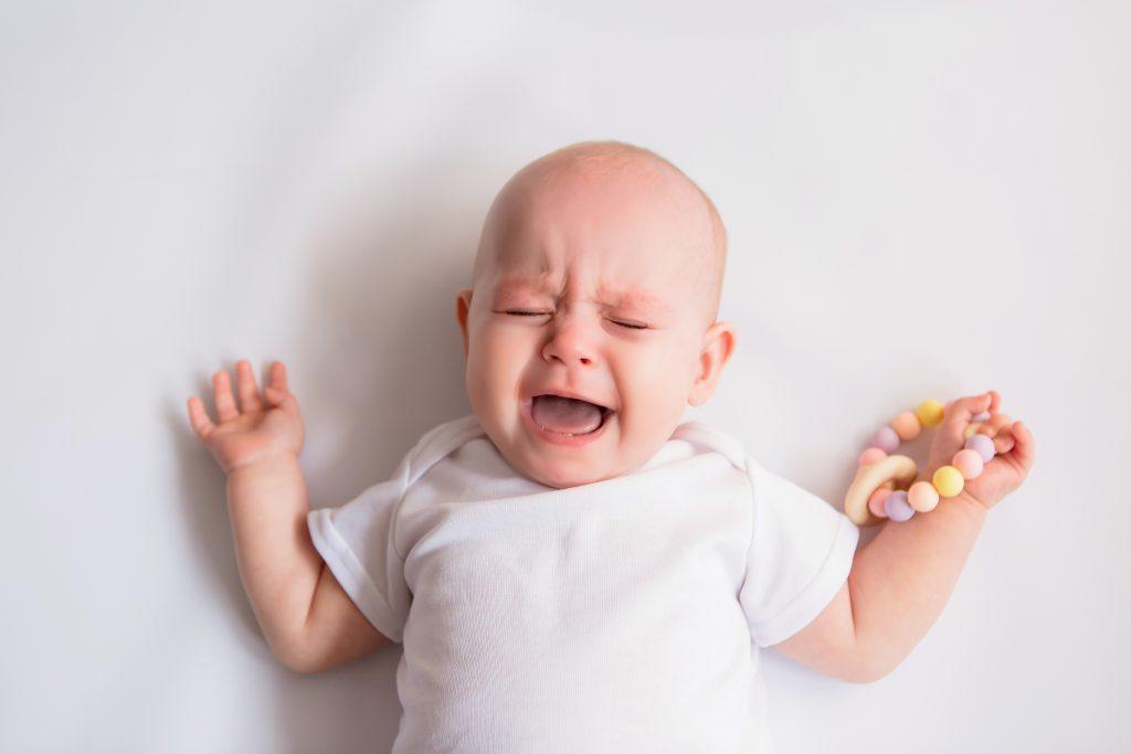 dolor de dientes o encias en bebes